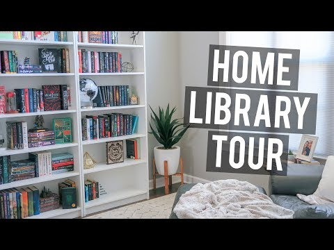 Home Library Tour / Bookshelf Tour