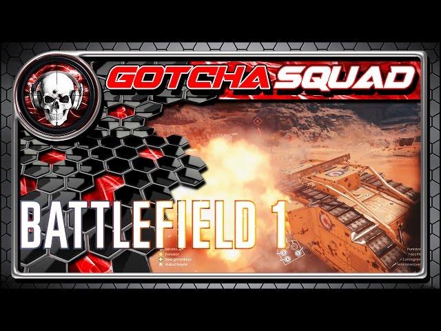 Battlefield 1 - BETA - Melhores Momentos Gotcha