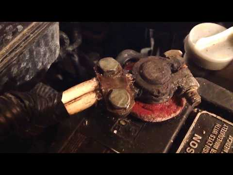 How to Stop Car Battery Cable Corrosion - see desc.
