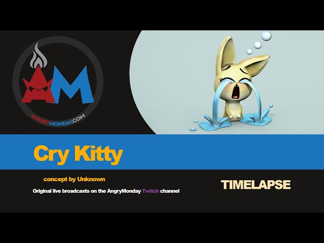 Cry Kitty Timelapse