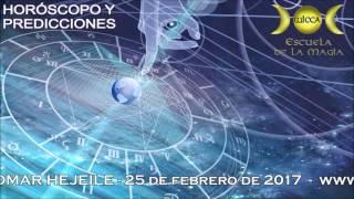 HORÓSCOPO Y  PREDICCIONES DEL 25 DE FEBRERO AL 5 DE MARZO DE 2017