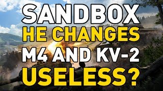 SANDBOX HIGH-EXPLOSIVE CHANGES in World of Tanks!