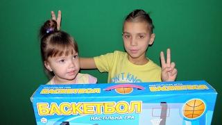 Настольная игра БАСКЕТБОЛ обзор / БОЕВОЙ КОСТЯН / Mini Basketball Board Game