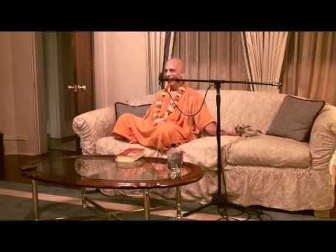 Lecture - Prahladananda Swami - BG 15.8 - No One Died because they didn't have an iPod
