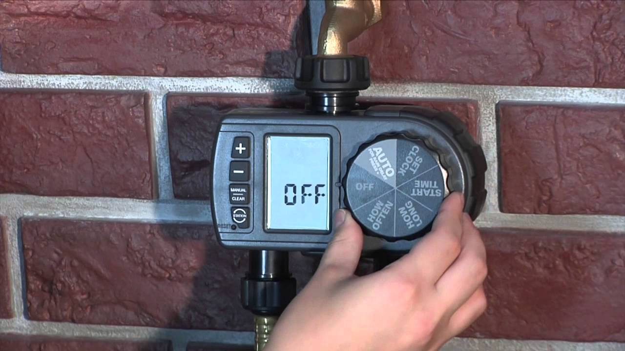 How To Program an Orbit Dual Outlet Hose Faucet Timer (28159)