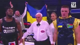 Украинский супертяж Влад Сиренко нокаутировал Дидье в первом раунде