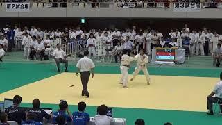 2017年 柔道女子個人63kg級 嘉重×井石 2回戦