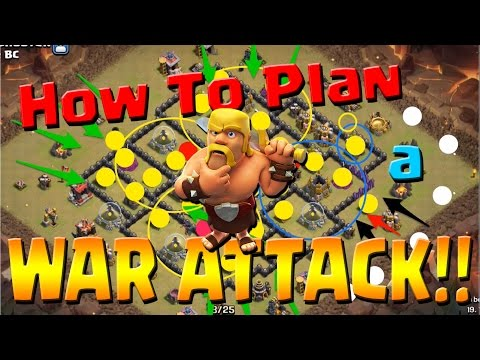 Clash of Clans: How to Plan a War Attack + LIVE GoVaHo!!  BTP vs Vancouver BC