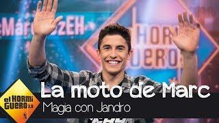 Marc Márquez regala una moto de competición a un espectador de 'El Hormiguero 3.0'