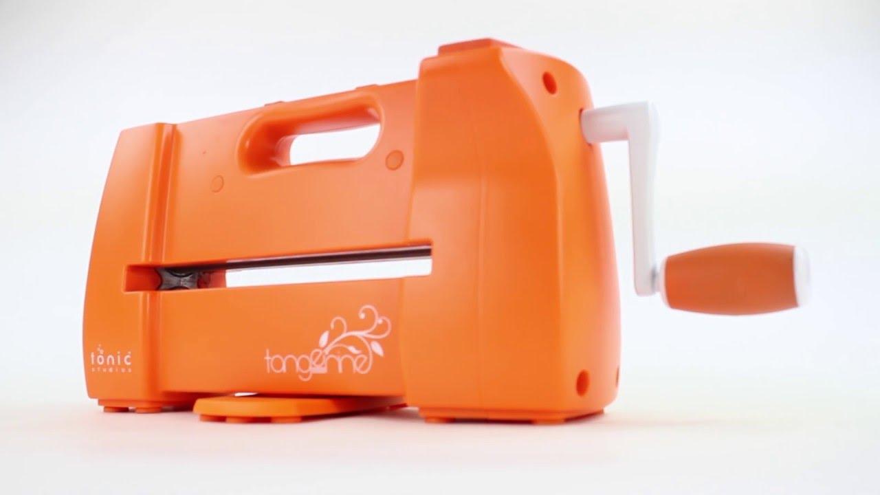 Tonic Introduces Tonic Tangerine Die Cutting Machine