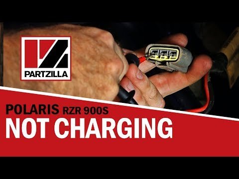 Diagnosing Charging System Problems 2015 RZR 900S
