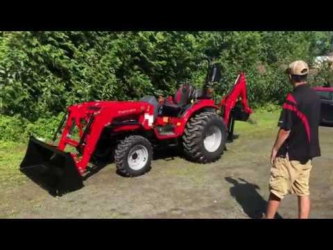 Mahindra 1626 Tractor Loader Backhoe - Walkthru
