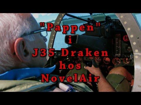 Pappen Flyger J35 Draken Hos NovelAir