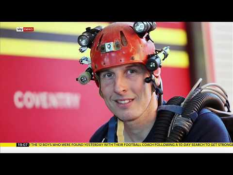 The British divers who found Thai boys stuck in a cave - Rebecca Williams