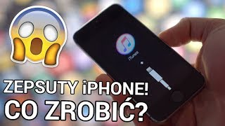 Jak naprawić zepsutego iPhone'a? (Czarny ekran, tryb Recovery) | dr. Fone