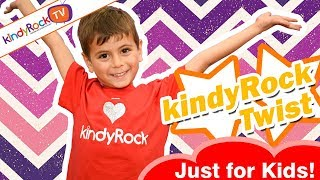 kindyRock Twist. Favourite action songs for preschoolers from kindyRock - best songs for kids!