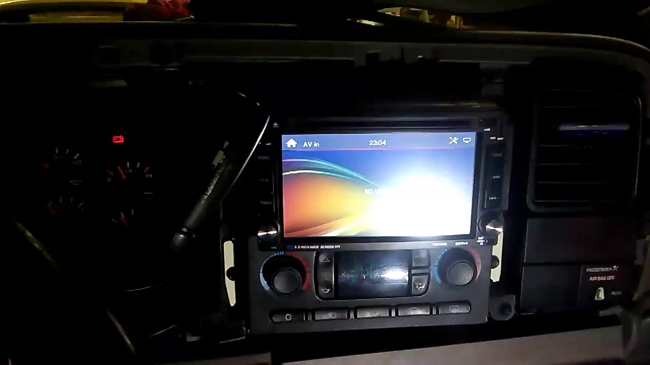 Back Up Camera Yellow Rca And Red Wire Where It Goes Youtube Wiring Backup F150