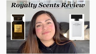 Royalty Scents Subscription Review - Scents: Narciso Rodriguez Pure Musc & Tom Ford Tobacco Vanille