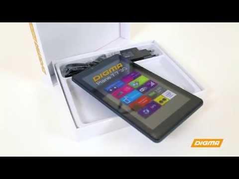 Распаковка Digma Plane 7.7 3G на Intel® Atom™.  Эксклюзивно в M.Bидео