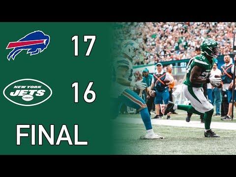 New York Jets Vs Buffalo Bills Week 1 2019 Recap