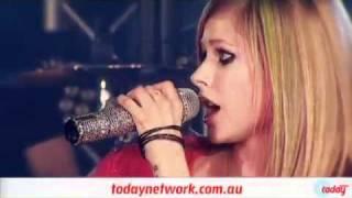 Avril Lavigne :) Smile Live 2DayFM Rooftop