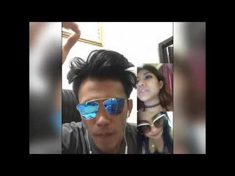 BIDUAN goyang hot VC dengan cowo , BIGO LIVE