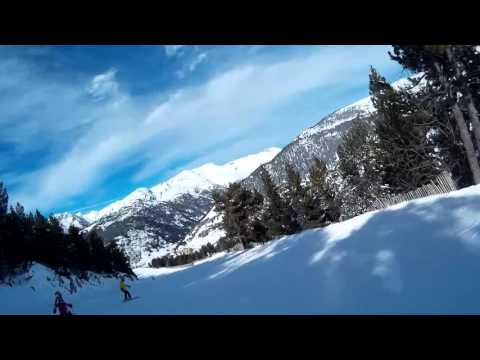 Andorra Soldeu - Skiing OS (Blue)