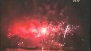 Le ciel d'Abidjan illuminé des milles feux d'artifices (2ème partie)