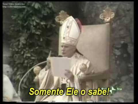 """""""Não tenhais medo!"""" - Discurso inaugural do Papa João Paulo II"""