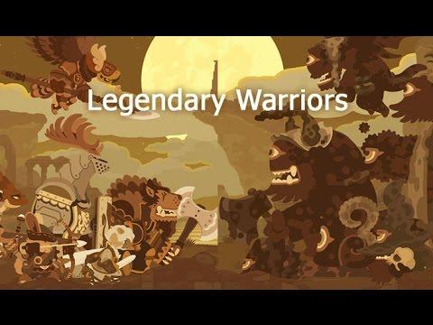 legendary warriors gameplay ios youtube
