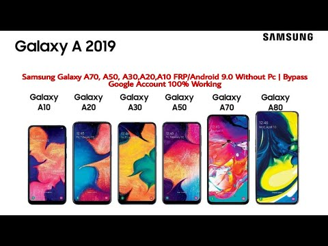 Samsung Galaxy A70, A50, A30,A20,A10 FRP/Android 9.0 Without Pc | Bypass Google Account 100% Working