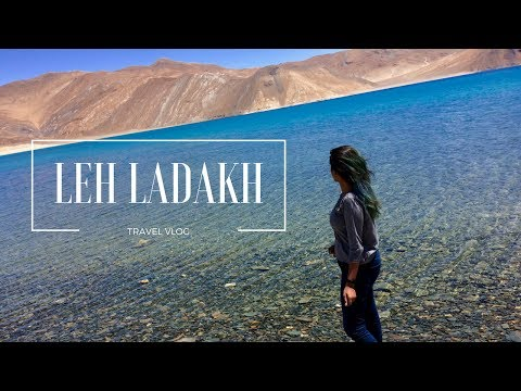 Travel Vlog : Leh Ladakh | Pangong Lake, Nubra Valley, etc. | Ria Thakare