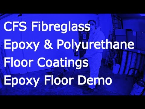 CFS Fibreglass Epoxy Floor Demo