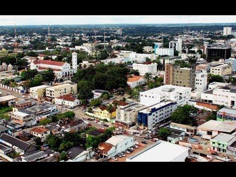 As 10 maiores cidades do Acre em população (2019)