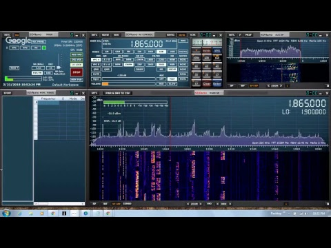 Receiving FT8 using SDRplay, SDRuno, and WSJT-X - Radio Room Hangout