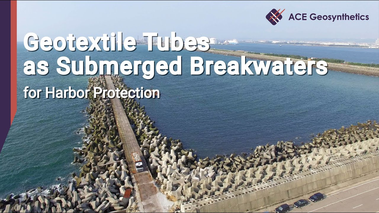 ACETube® - hydraulic structures - Geotextile Bags, Tubes and