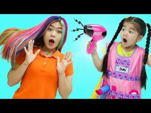 Suri Pretend Play With Kids Hair Salon Toys