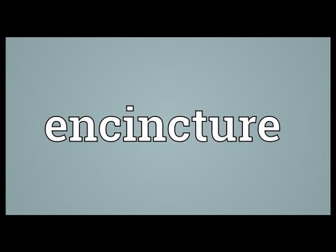 Header of encincture