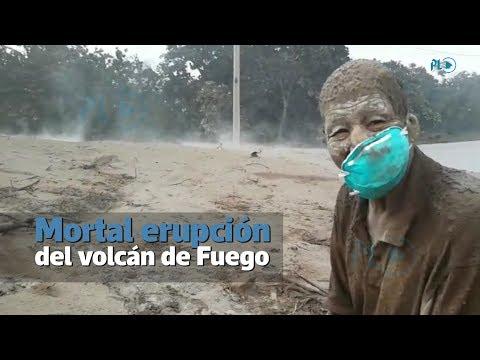 Erupción del volcán de Fuego deja muerte y destrucción | Prensa Libre