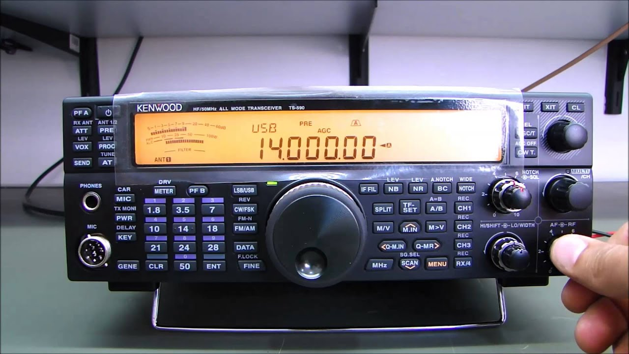 ALPHA TELECOM: KENWOOD TS-590S do ALYSSON - PW8AR