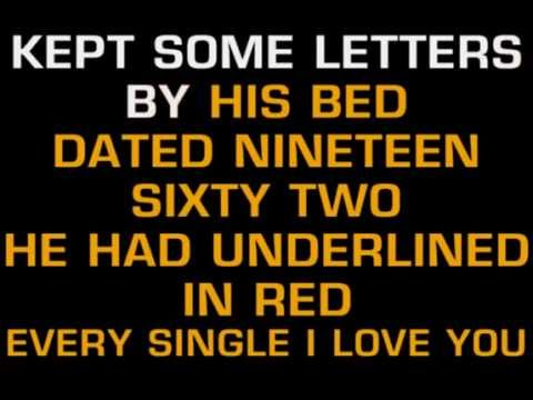 George Jones   He Stopped Loving Her Today Karaoke