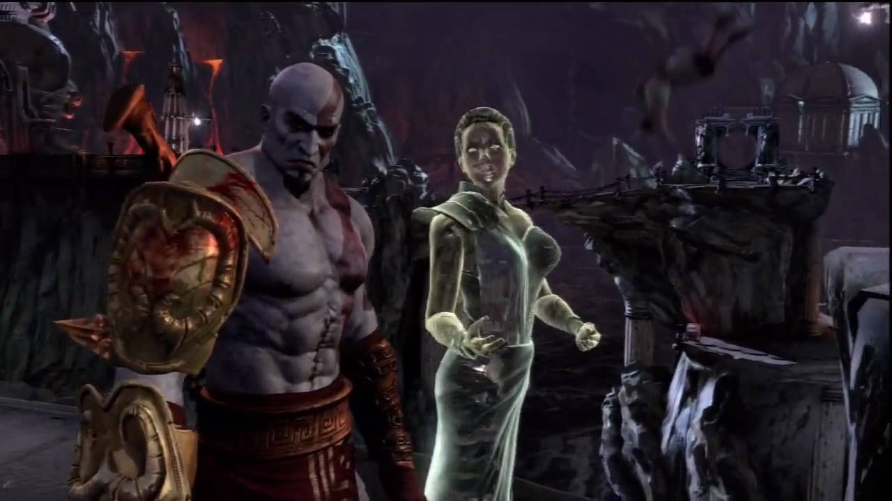Meeting with Athena - God of War 3 (HD) Gameplay!!! - YouTube