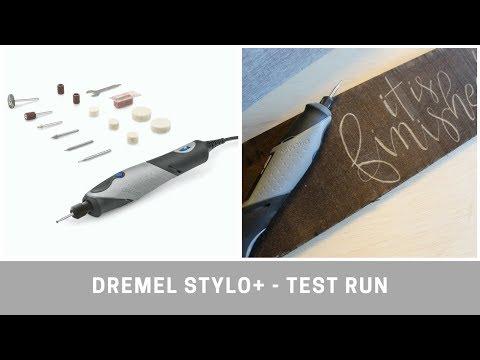 Dremel Stylo+ Craft Tool - Test Run