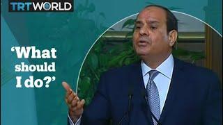 Egypt's Sisi asks for advice