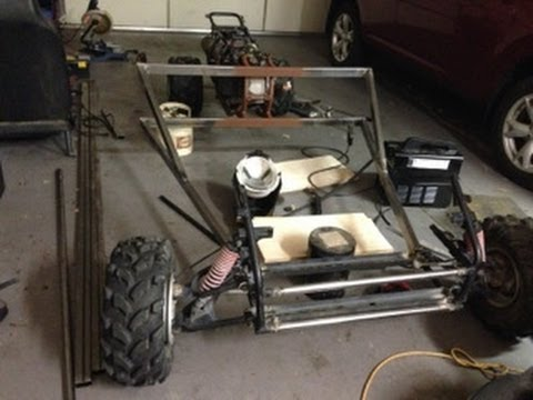 how to build a 4 wheel cart