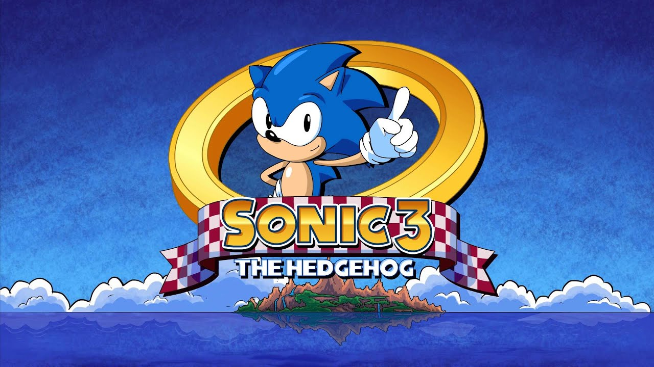 sonic the hedgehog 3 hd remastered intro youtube