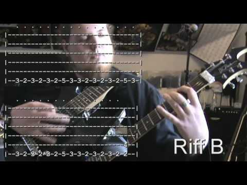 Jungle Rot - Virus - Death Metal Guitar Lesson for Beginners - YouTube