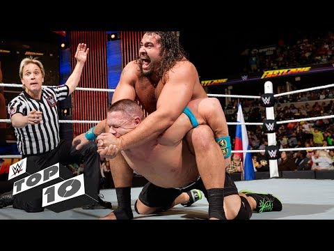 John Cena's most shocking losses: WWE Top 10, Feb 10, 2018