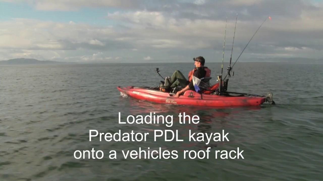 Old Town Predator PDL Kayak Information