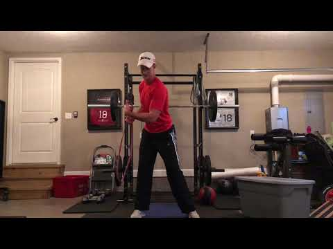 Band exercises for golf improvement